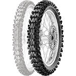 Pirelli Scorpion MX Mid Soft 32 Rear Tire - 90/100-14 - Dirt Bike Rear Tires