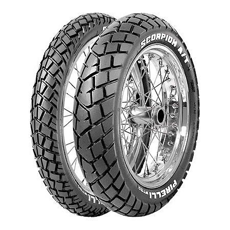 Pirelli MT90AT Scorpion Rear Tire - 120/80-18 - Main