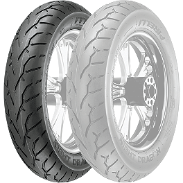 Pirelli Night Dragon Front Tire - MT90-16B - Samson True Dual Crossover Full System With Fishtail Mufflers