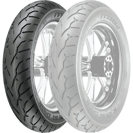 Pirelli Night Dragon Front Tire - 140/75R17 - Main