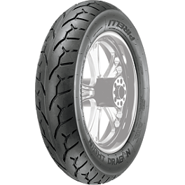 Pirelli Night Dragon Rear Tire - Mu85-16B - Pirelli MT66 Route Front Tire - 3.00-18S