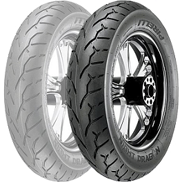 Pirelli Night Dragon Rear Tire - 160/70-17V - Pirelli MT66 Route Front Tire - 100/90-19S