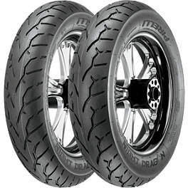 Pirelli Night Dragon Tire Combo - Samson True Dual Crossover Full System With Longtail Mini Cholo Mufflers