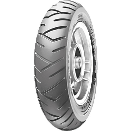 Pirelli SL26 Rear Tire - 130/70-12 - Pirelli Sport Demon Front Tire - 110/90-18