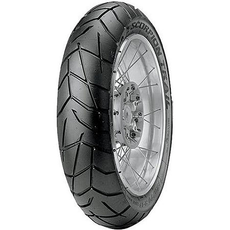 Pirelli Scorpion Trail Rear Tire - 120/90-17 - Main