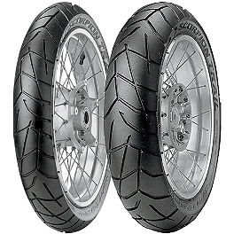 Pirelli Scorpion Trail Tire Combo - Continental Trail Attack Dual Sport Tire Combo