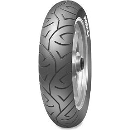 Pirelli Sport Demon Rear Tire - 120/80-18 - 2009 Kawasaki EX250 - Ninja 250 Jardine RT-5 Full Exhaust System - Carbon Fiber