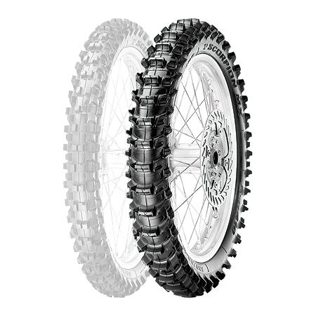 Pirelli Scorpion MX Soft 410 Rear Tire - 100/90-19 - Main