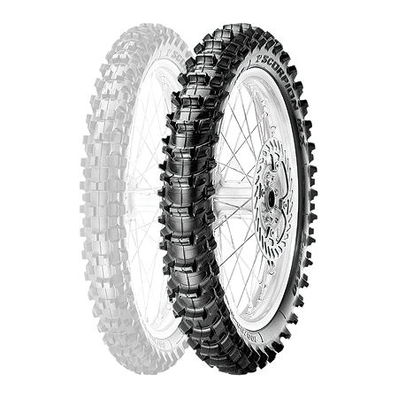 Pirelli Scorpion MX Soft 410 Rear Tire - 110/90-19 - Main