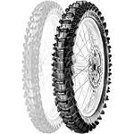 Pirelli Scorpion MX Soft 410 Rear Tire - 110/90-19 - 110 / 90-19 Dirt Bike Rear Tires