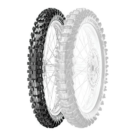 Pirelli Scorpion MX Soft 410 Front Tire - 80/100-21 - Main