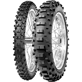 Pirelli Scorpion Pro Rear Tire - 120/90-18 - 1987 Honda CR125 Pirelli MT43 Pro Trial Front Tire - 2.75-21