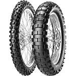Pirelli Scorpion Rally Rear Tire - 120/100-18 - 120 / 100-18 Dirt Bike Rear Tires