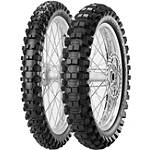 Pirelli 125/250F Scorpion Tire Combo - Dirt Bike Wheels