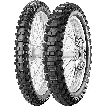 Pirelli 250/450F Scorpion Tire Combo - Main
