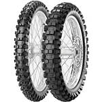 Pirelli 250/450F Scorpion Tire Combo - Dirt Bike Wheels