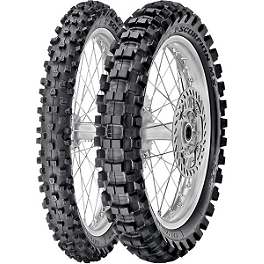 Pirelli 80/85 Scorpion Tire Combo - 1983 Honda CR80 Pirelli Scorpion MX Mid Soft 32 Rear Tire - 90/100-14
