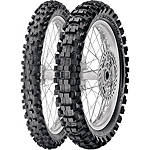 Pirelli 80/85BW Scorpion Tire Combo - Pirelli Dirt Bike Dirt Bike Parts