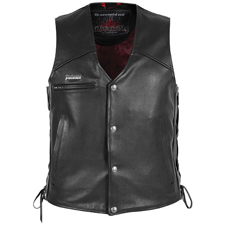Pokerun Cutlass 2.0 Leather Vest - Main
