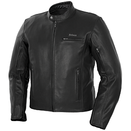 Pokerun Deuce 2.0 Leather Jacket - River Road Iron Cross Graphix Jacket