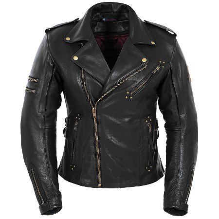 Pokerun Women's Marilyn Leather Jacket - Main