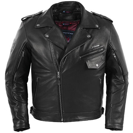 Pokerun Outlaw 2.0 Leather Jacket - Main
