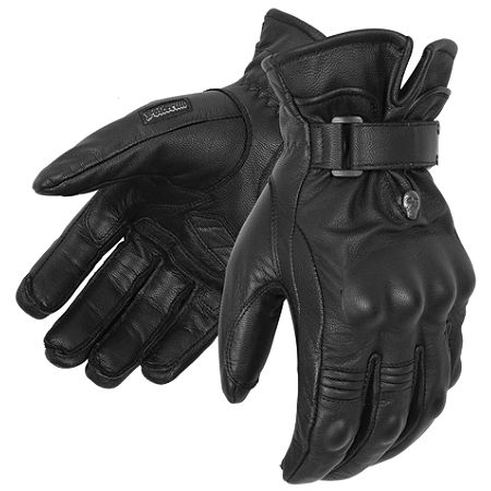 Pokerun Short Leather Gloves - Main