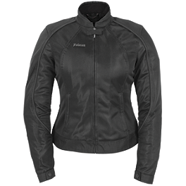 Pokerun Women's Wild Annie Jacket - Firstgear Women's Contour Tex Jacket
