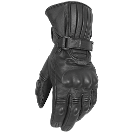 Pokerun Winter Long Leather Gloves - Power Trip Dakota Gloves