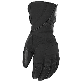 Pokerun Winter Long Textile Gloves - Teknic Thunder Waterproof Gloves