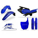 Polisport Complete Plastic Kit - Suzuki RM125 Dirt Bike Body Parts and Accessories