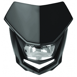 Polisport Halo Halogen Headlight - Polisport Plastic Kit