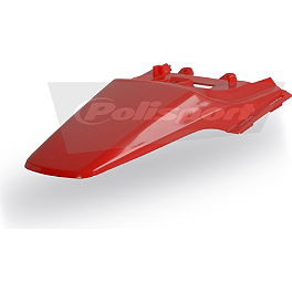 Polisport CRF50 Rear Fender - 2005 Honda CRF50F Moose Training Wheels