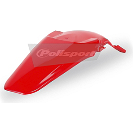 Polisport Rear Fender - 2007 Honda CRF150R Big Wheel Polisport Radiator Shrouds