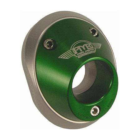 Pro Moto Billet Spark Arrestor End Cap - Green - Main
