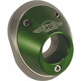 Pro Moto Billet Spark Arrestor End Cap - Green - 2012 Kawasaki KX450F Pro Moto Billet Kick-It Kick Stand