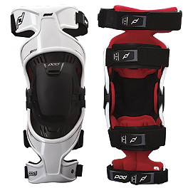 PodMX K300 Knee Brace - SixSixOne MX-3 Camber Knee Braces
