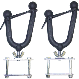 Pack Rack Single With Flat Mount Brackets - Pack Rack Single