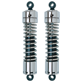 "Progressive 412 Series 12"" Cruiser Dual Shocks - 1987 Suzuki Intruder 1400 - VS1400GLP Progressive Fork Spring Kit"