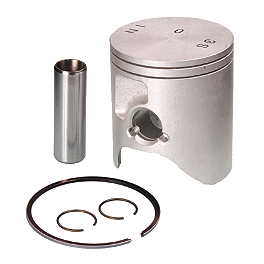 Pro-X 2-Stroke Piston - Stock Bore - 2004 Yamaha YZ125 Pro-X Piston Kit - 2-Stroke