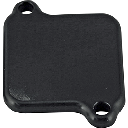 Powerstands Racing Air Injection Block Off Plate - 2013 Suzuki Boulevard M90 - VZ1500 Powerstands Racing Air Injection Block Off Plate