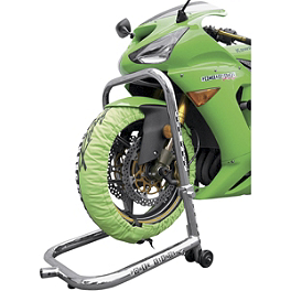 Powerstands Racing Big Mike Triple Tree Front Stand With Pin - 2000 Kawasaki EX250 - Ninja 250 Powerstands Racing Front Stand Pin