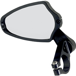 Powerstands Racing Felipe Bar End Mirror - 2008 Triumph Street Triple Powerstands Racing Clip-Ons