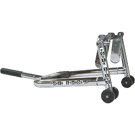 Powerstands Racing Mick Fork Lift - Powerstands Racing Folding Bar End Mirror - Franco