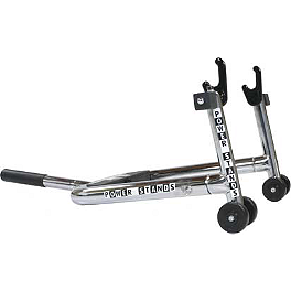 Powerstands Racing Max Swingarm Stand - 2000 Suzuki GS 500E Powerstands Racing Big Mike Triple Tree Front Stand With Pin