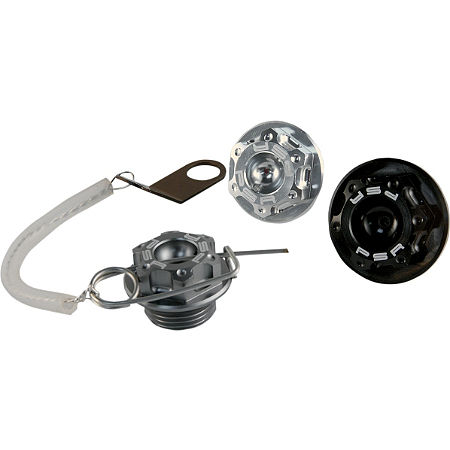Powerstands Racing Oil Filler Cap Kit - Black