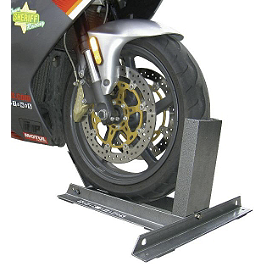 Powerstands Racing Power Chock - 2008 Kawasaki ZX600 - Ninja ZX-6R Powerstands Racing Big Mike Triple Tree Front Stand With Pin