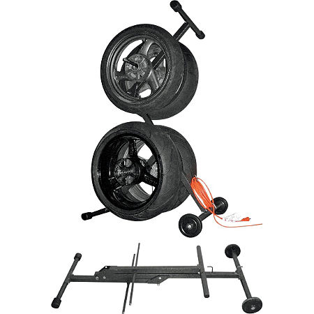 Powerstands Racing Kingpin Wheel / Tire Carrier - Main