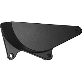Powerstands Racing Case Cover - Vortex Right Side Clutch Guard - Black