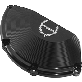 Powerstands Racing Case Cover - 2002 Suzuki SV650S Powerstands Racing No Mod Frame Sliders